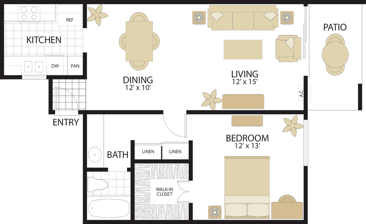 Park West Apartments in Irvine, CA | Irvine Company  Bedroom Townhouse Plans Html on luxury townhouse plans, garden townhouse plans, duplex townhouse plans, bungalow townhouse plans, 1 bed townhouse plans, 1 bedroom cabin,