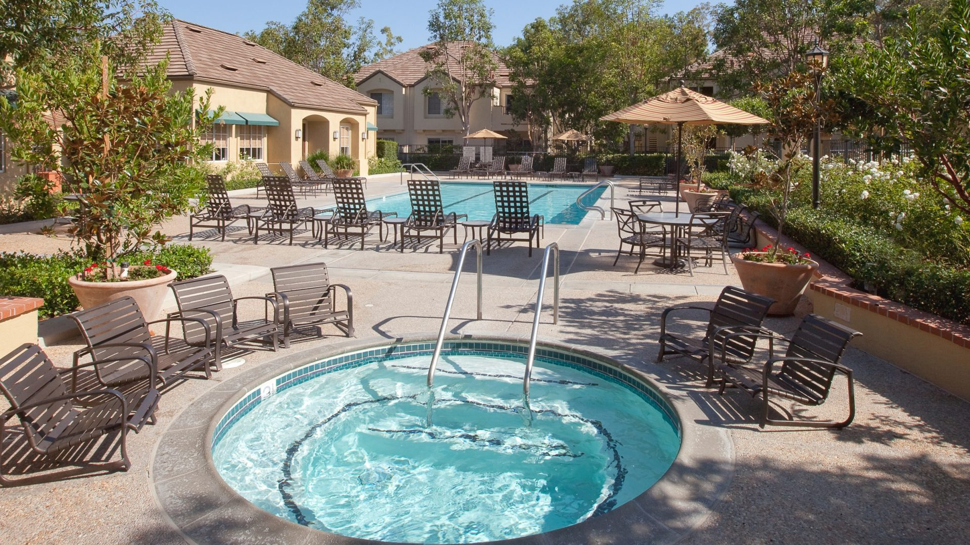 Interior view of Turtle Rock Canyon Apartment Communities in Irvine.