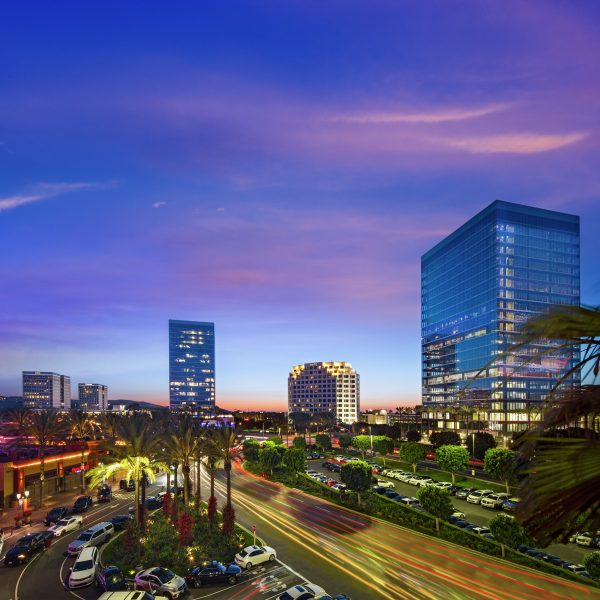 Photography of Spectrum Skyline, Irvine Spectrum Center, Irvine, California