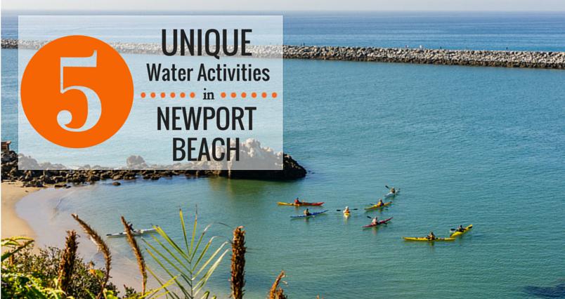 Water Activities in Newport Beach